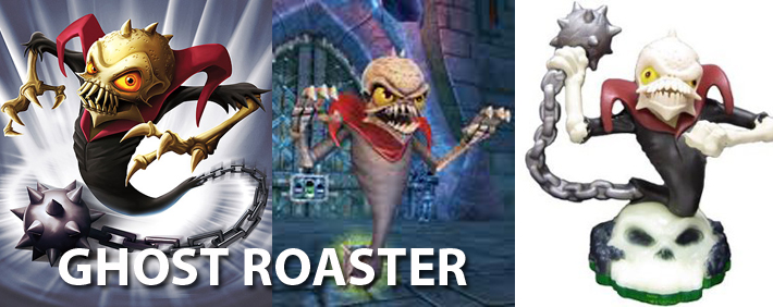 Skylanders Ghost Roaster Figure