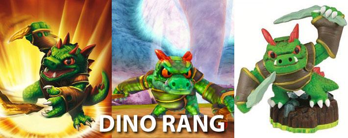 Skylanders Dino Rang Figure