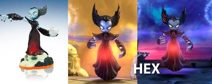 Skylanders Hex Figure