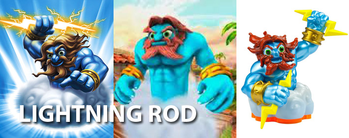 Skylanders Lightning Rod Figure