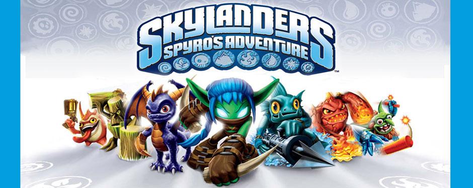 Skylanders Figures Slider