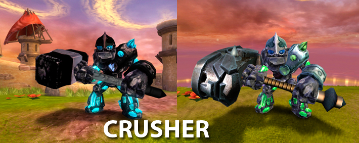 Skylanders Giants Crusher Figure