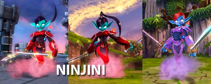 Scarlet Ninjini Skylanders Giants Sticker//Code Only!