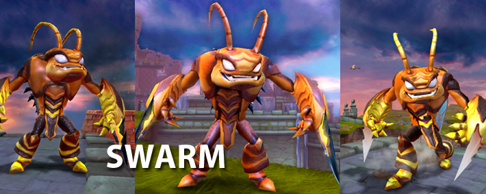 Skylanders Giants Swarm Figure