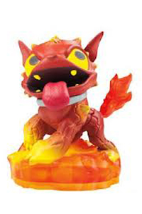 Skylanders Hot Dog Figure