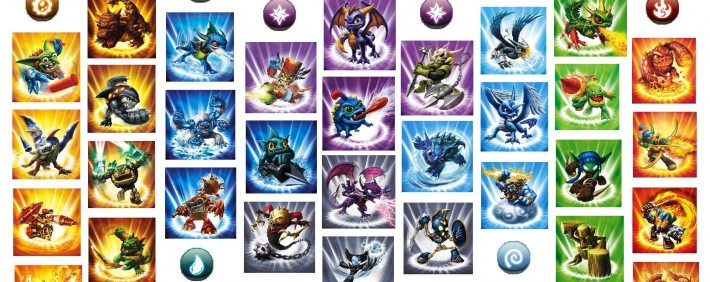Skylanders Spyro's Adventure Figures