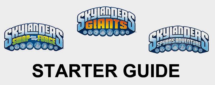 Skylanders Starter Guide