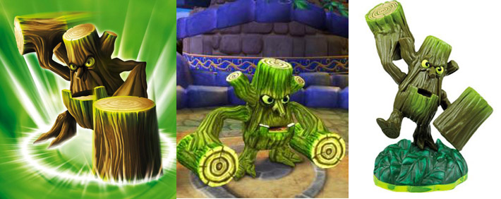 Skylanders Stump Smash Figure