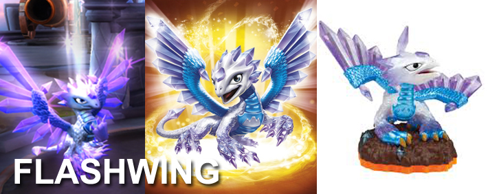 Skylanders Flashwing Figure