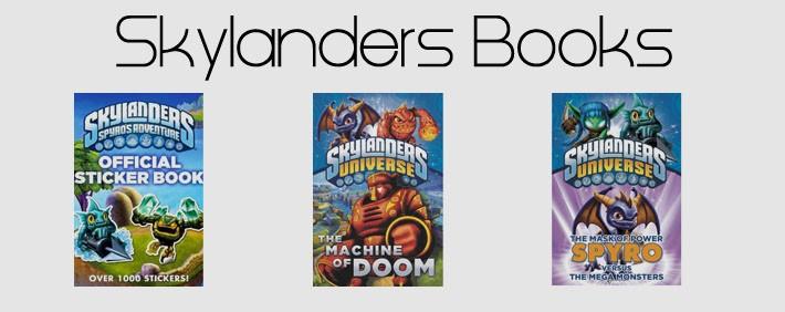 Skylanders Books