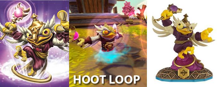 Skylanders Hoot Loop Figure