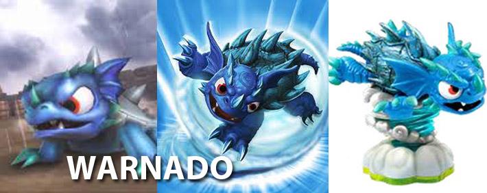 Skylanders Warnado Figure