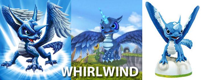 Skylanders Whirlwind Figure